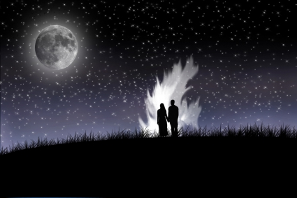 Lovers in Midnight