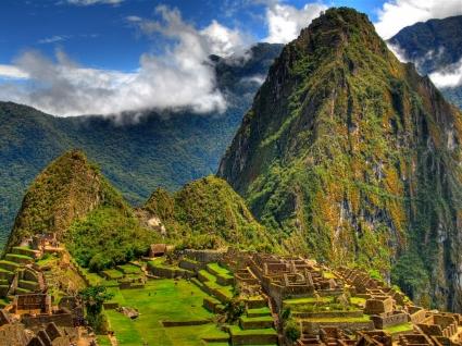 Machu Picchu Wallpaper Peru World