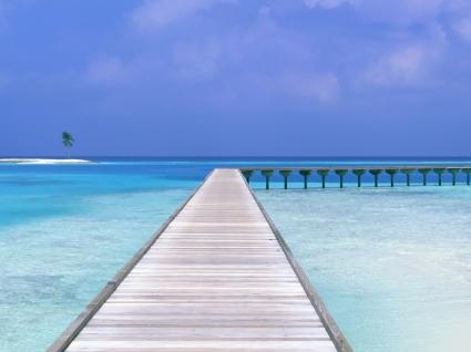 Maldives Dock Wallpaper Maldives World