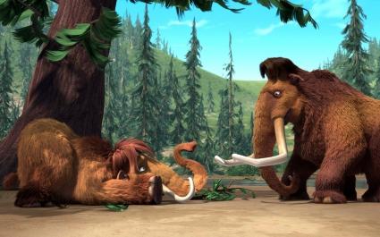Manny & Ellie Ice Age