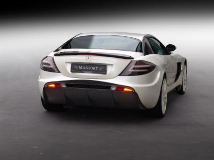 Mansory McLaren SLR Renovatio Wallpaper Mercedes Cars