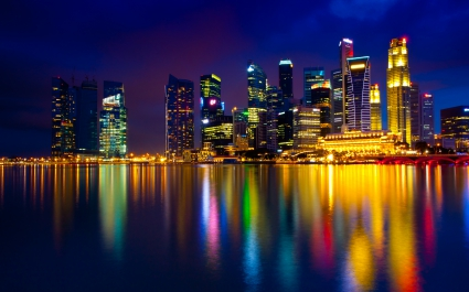 Marina Bay Singapore 4K