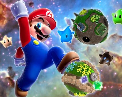 Mario Galaxy Game