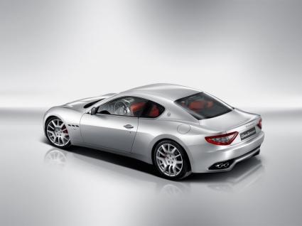 Maserati GranTurismo Rear and Side Wallpaper Maserati Cars