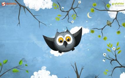 May Owl Flight