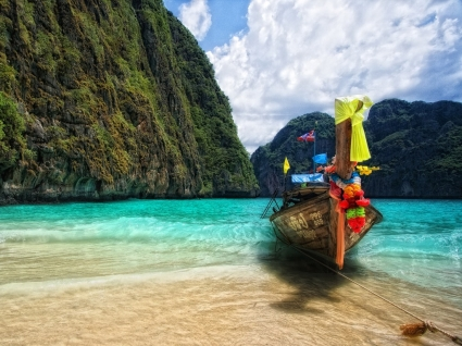 Maya Bay Wallpaper Thailand World