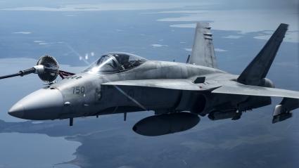 McDonnell Douglas FA 18 Hornet Supersonic Attack Aircraft