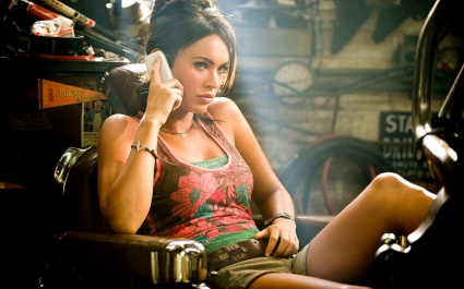 Megan Fox Exclusive Transformers 2