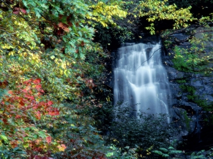Meigs Falls Wallpaper Waterfalls Nature