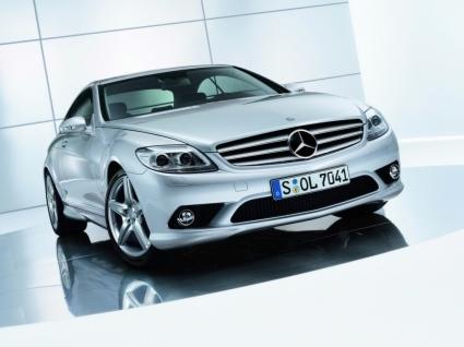 Mercedes Benz CL Front Wallpaper Mercedes Cars