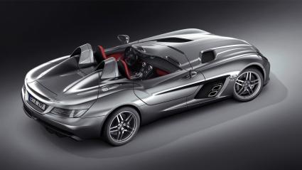 Mercedes Benz SLR McLaren Stirling Moss 1080p