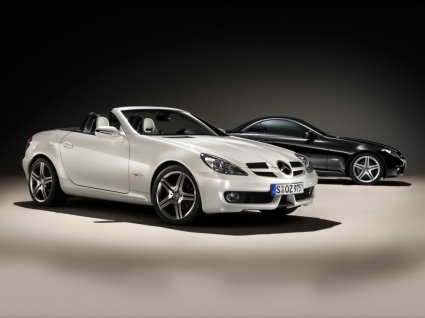 Mercedes SLK 2LOOK Wallpaper Mercedes Cars