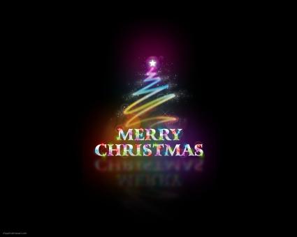 Merry Christmas Abstract