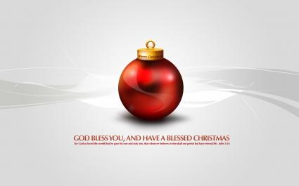 Merry Christmas God Bless You