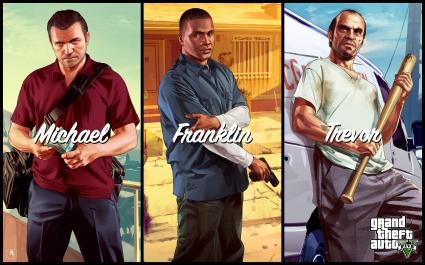 Michael Franklin Trevor in GTA 5