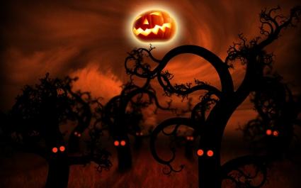 Midnight Forest Halloween