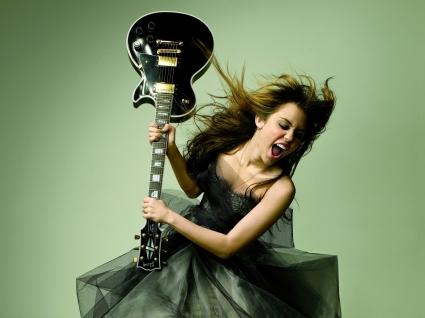 Miley Cyrus Glamour Magazine Photoshoot