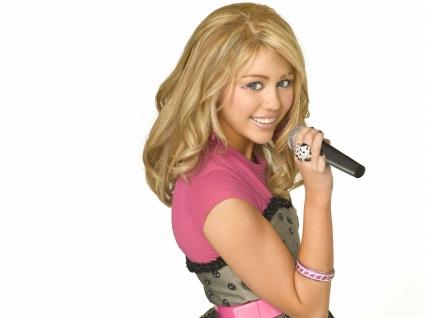 Miley Cyrus in Hannah Montana
