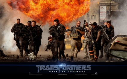 Military in Transformers 3
