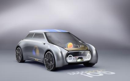 Mini Vision Next 100 Concept Car 4K