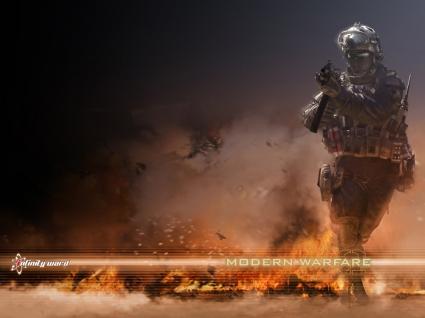 Modern Warfare 2 Wallpaper Call of Duty Games