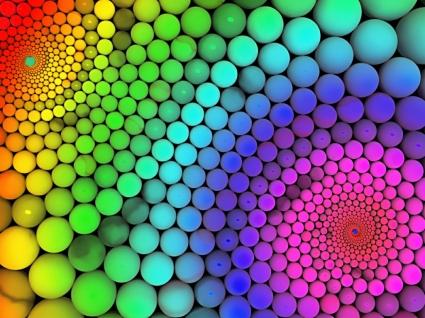 Molecular Geometry Wallpaper Abstract 3D