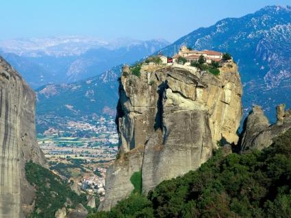 Monastery of Agia Triada Wallpaper Greece World
