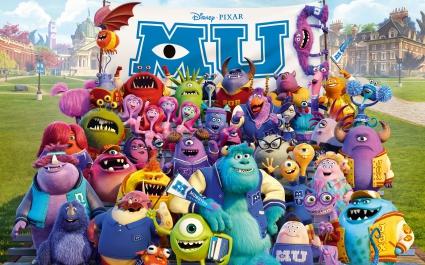 Monsters University 2013