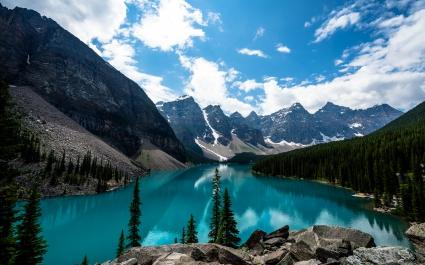 Moraine Lake Canada 4K