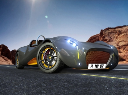 Morey Concept car Wallpaper 3D Models 3D
