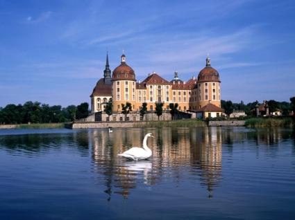 Moritzburg Castle Wallpaper Germany World