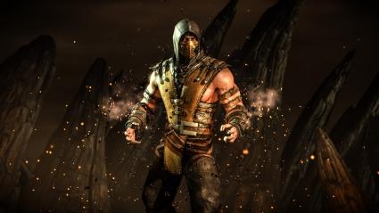 Mortal Kombat X Scorpion Hellfire
