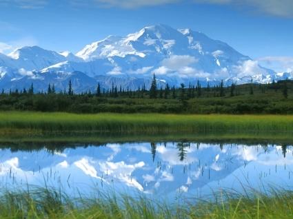 Mount McKinley Wallpaper Landscape Nature