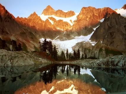 Mount Shuksan Wallpaper Landscape Nature