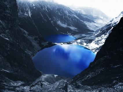 Mountain Lake Wallpaper Landscape Nature