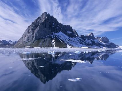 Mountain Reflections Wallpaper Landscape Nature