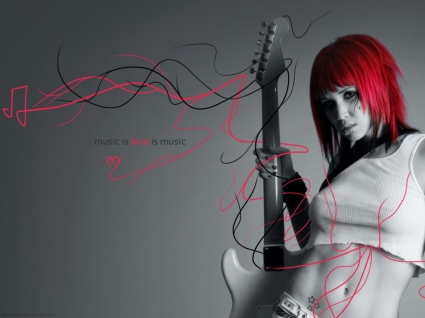 Music Is Love Wallpaper Female Singers Music
