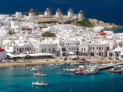 Mykonos Cyclades Wallpaper Greece World