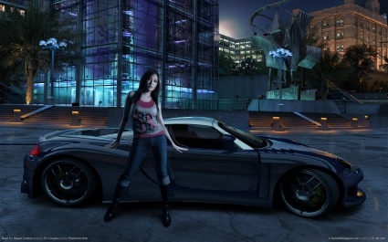 Need for speed carbon Girl