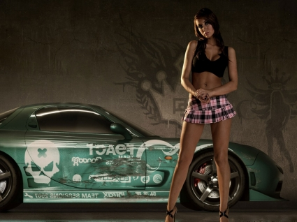 Need For Speed Pro Street Wallpaper NFS Pro Street Games