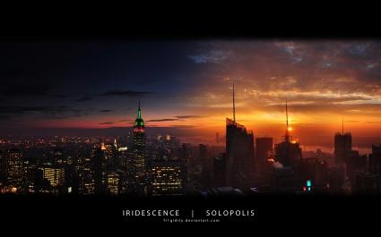 New York Empire State Panorama