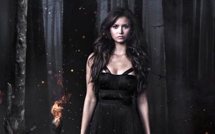 Nina Dobrev in The Vampire Diaries