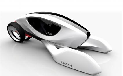 Nissan V2G LA Concept Car