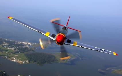 North American P 51 Mustang Aircraft