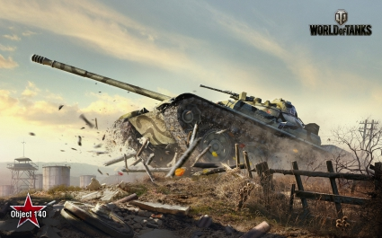 Obj 140 World of Tanks