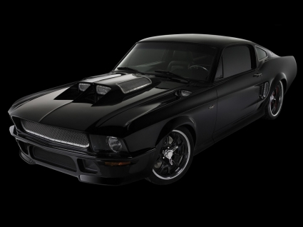 Obsidian Ford Mustang Wallpaper Ford Cars Wallpapers
