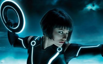 Olivia Wilde Tron Legacy Multi Monitor
