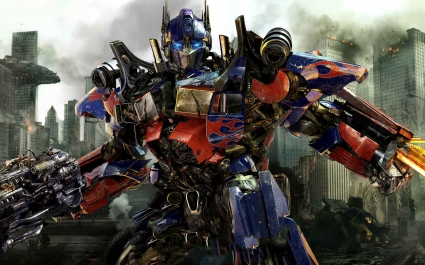 Optimus Prime in New Transformers 3