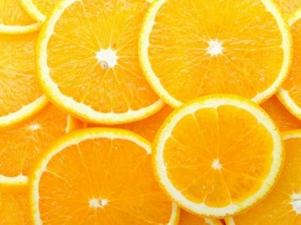 Orange Slices Wallpaper Fruits Nature