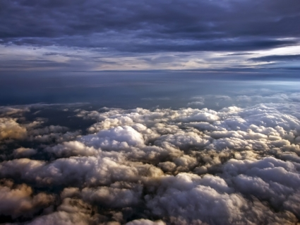 Over The Clouds Wallpaper Other Nature